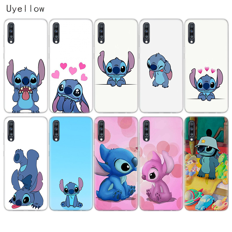 Uyellow Disneys Stitches Phone Case For <font><b>Samsung</b></font> <font><b>A10</b></font> A20 A30 A40 A50 A60 A70 A80 A20E Cover For Galaxy M10 M20 M30 M40 Soft <font><b>Coque</b></font> image