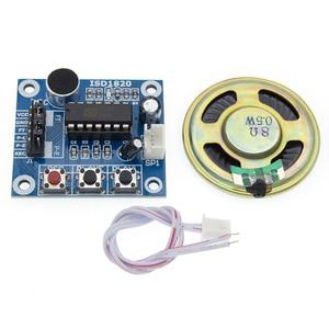 Image 3 - 50 Stks/partij ISD1820 Opname Module Spraakmodule De Stem Boord Telediphone Module Bord Met Microfoons