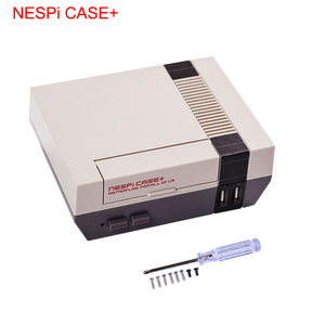 Image 2 - Retroflag NESPi מקרה + פטל Pi מקרה + Gamepad + מאוורר + גוף קירור אופציונלי 32G SD כרטיס