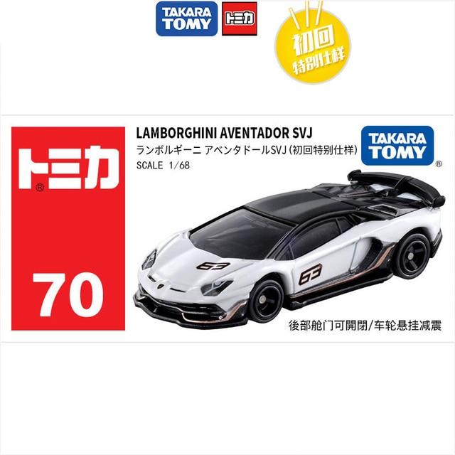 TAKARA TOMY 162 Lamborghini Aventador SVJ modèle moulé sous pression voiture jouet voiture garçons jouets