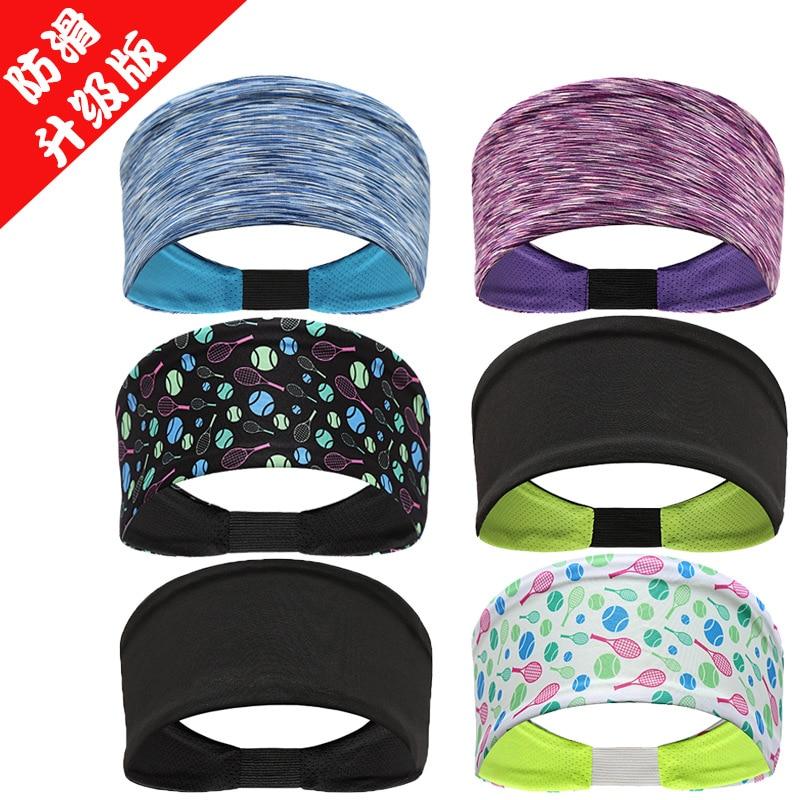 Factory Sports Headband Non-slip Upgraded Antiperspirant Absorbent Headband Gym Yoga Sport Hair Band supreme headband