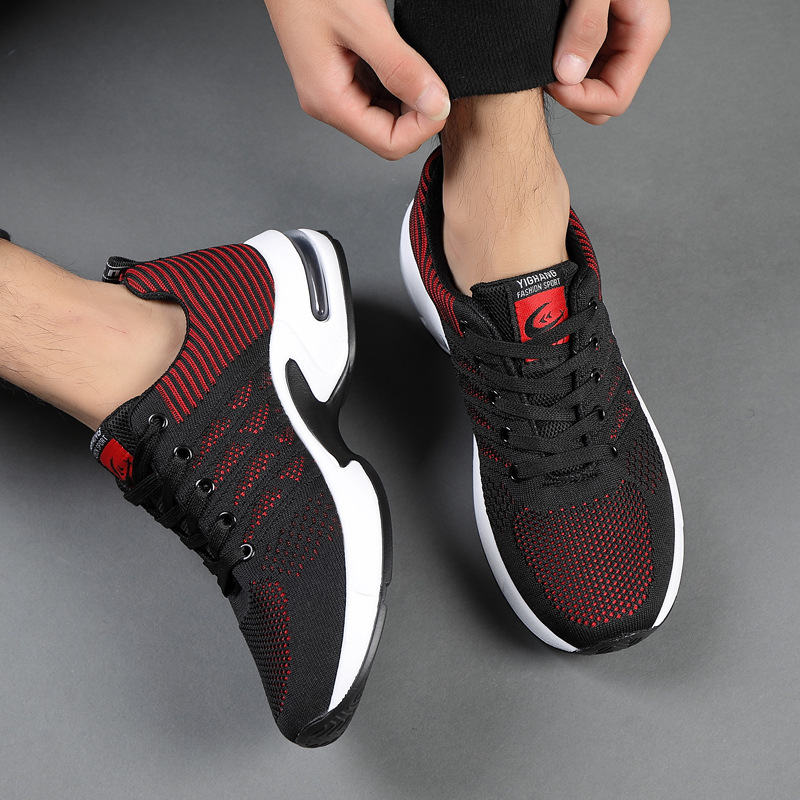 Running Shoes For Men 2019 Casual Gym Men Shoes Slip On Sneakers Homens Breathable Light Sport Shoes Men Chaussure Homme Sport