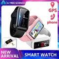 Смарт-часы DS66 sim-карта пульсометр артериальное давление GPS позиционирование синхронизация звонков SMS Поддержка Android IOS телефон наручные часы...