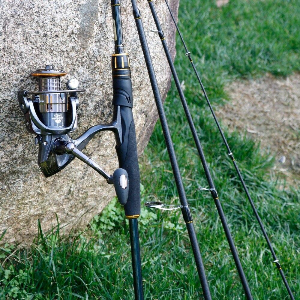 Sougayilang fiação vara de pesca e carretel