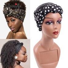 Headband Nunify Wig-Cap Base-Wig-Accessories Hair-Net Mesh Crochet Sewing with Flower