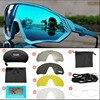 Ciclismo óculos polarizados mtb mountain bike ciclismo óculos de sol óculos de ciclismo óculos de proteção oculos 22