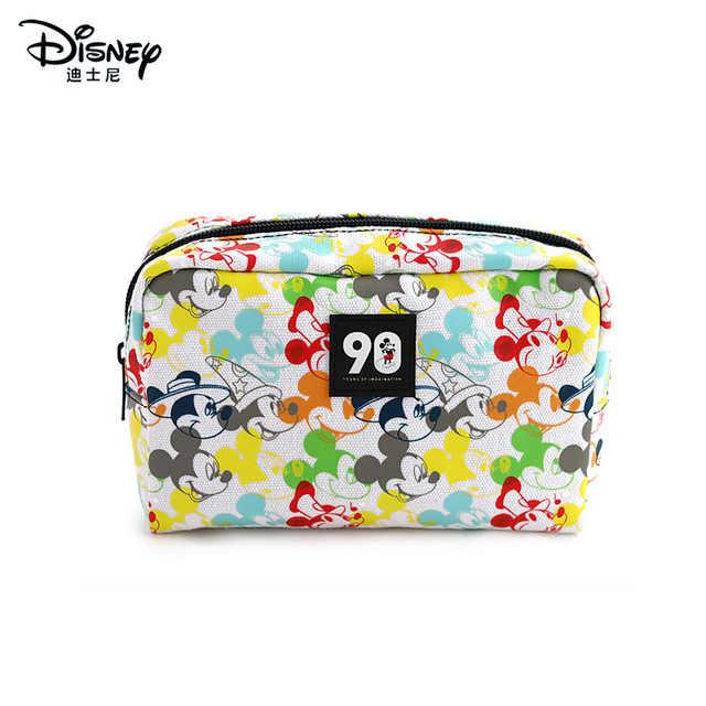 Disney Mickey Mouse del fumetto Della Borsa Della Moneta Pendente Del sacchetto pacchetto Minnie della ragazza dei bambini del sacchetto di Immagazzinaggio sacchetto cosmetico cassa di matita del capretto