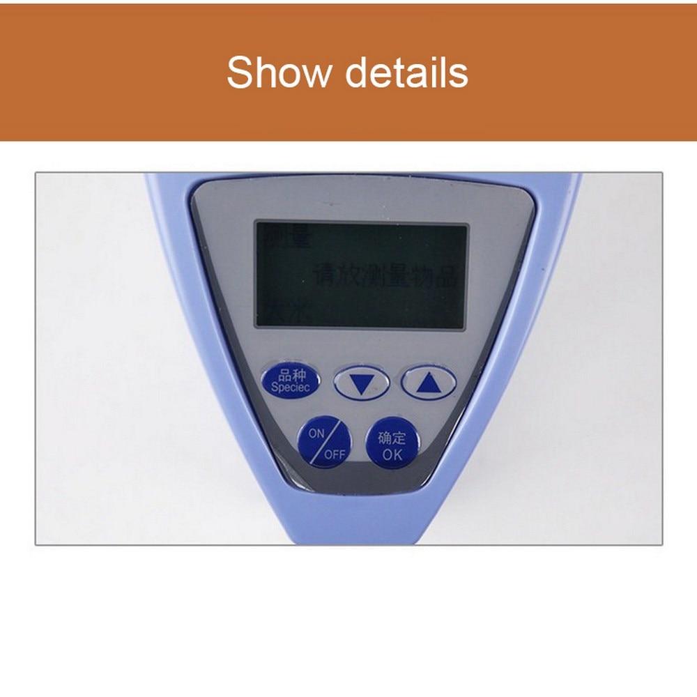Цифровой анализатор влажности зерна, высокоточный гигрометр для кукурузы, риса, зерна, LDS 1G, измеритель влажности, ЖК дисплей, автоматически... - 4