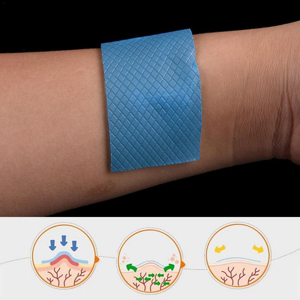 Reusable Acne Gel Scar Removal Patch Therapy Silicon Trauma Sheet Skin Remove Silicone Burn Repair Patch U5B9