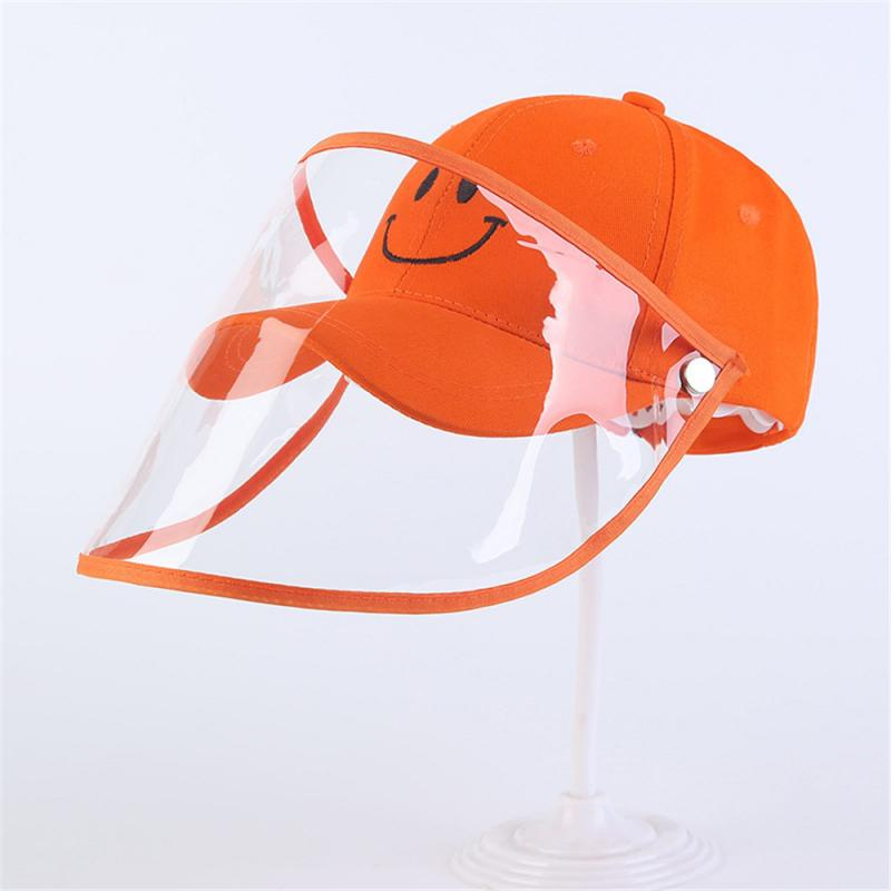 Hat Isolation Sunscreen Hat Children's Fisherman's Hat Anti-saliva Cap Hot In Sale