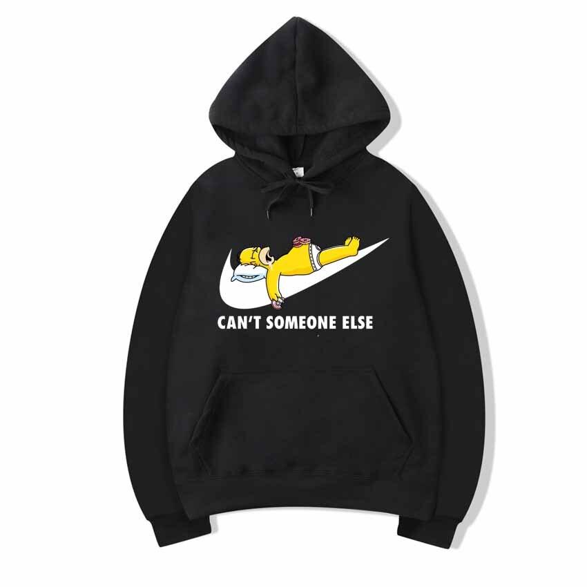 2020New Alta Impresso Homens odzież sportowa Camisola Hip-Hop Simpson Masculino/Feminino bluzy z kapturem do Pulôver tamanho Grande Ca