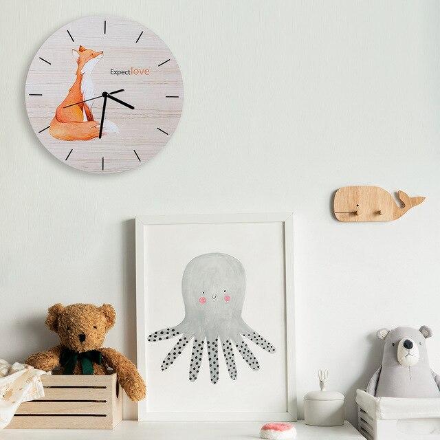 Disainikas seinakell lastetuppa