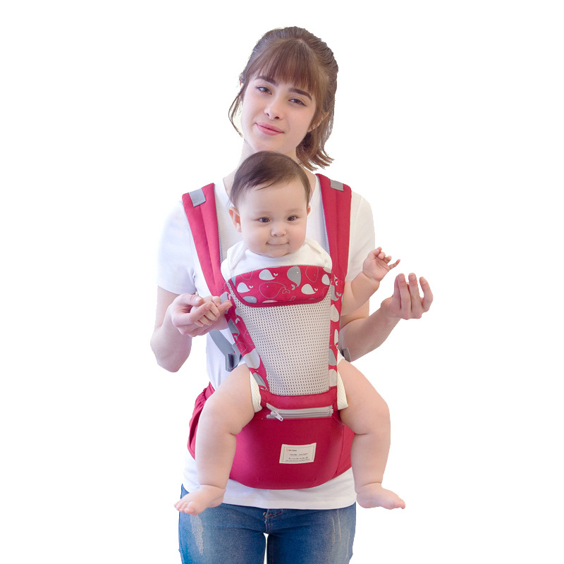 Insular Baby Waist Stool Four Seasons Multi-functional Baby Waist Stool Shoulder Suspender Strap Carried The Baby Waist Stool Cr