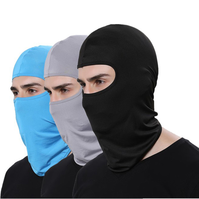 Tactical Military Face Mask Breathable Balaclava Sports Headgear Quick Dry Beanies Windproof Cap Motorcycle Helmet 3