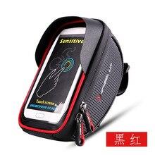 цена на New Touch phone bag Bicycle bag mountain bike accessories Cell phone mount for motorcycle Waterproof Bike basket bike saddle bag