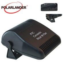 Новый автомобильный обогреватель, воздухоохладитель, портативный вентилятор с регулируемым в черном цвете, автомобильный обогревающий ве...