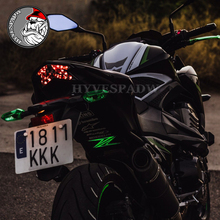 Motorcycle Night Riding Cold Light Signal Flashing Stripe Luminous Sticker for KAWASAKI Z900 Z650 Z1000 Z800 Z750 Z300 Z250 Z125