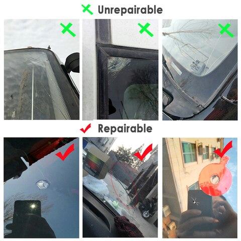 Car Glass Nano Windshield Repair Fluid -Car Window Glass Crack Chip Repair Tool DIY Car Window Repair Tools Car Auto Accessories Multan