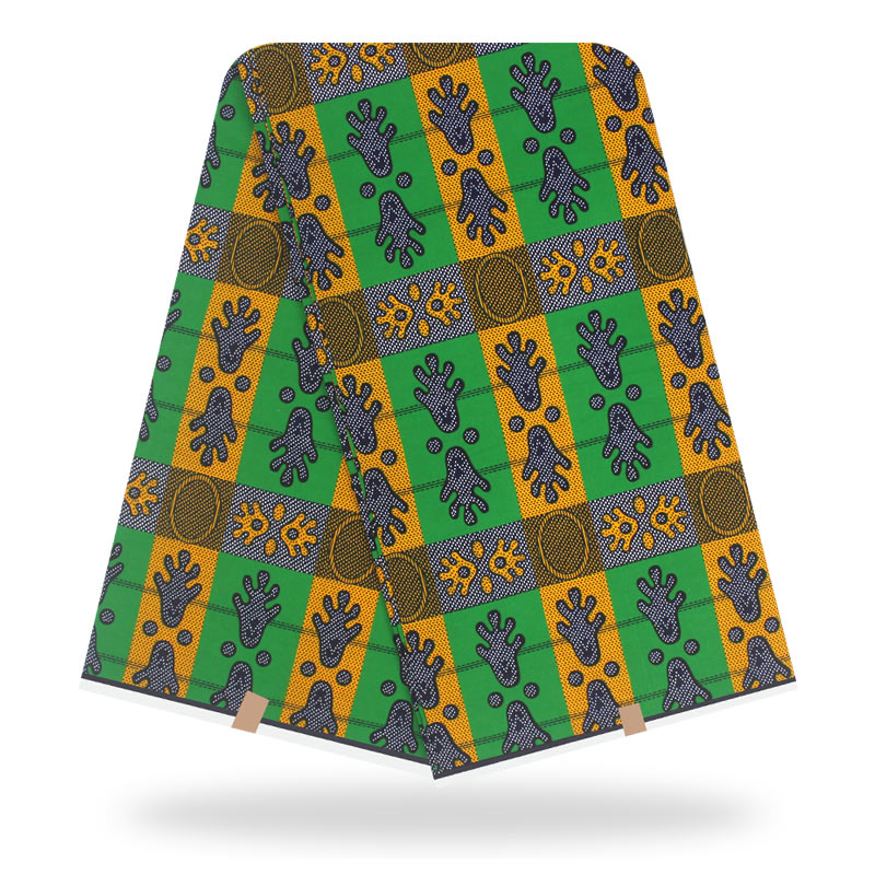 Wax Africain Pagne African Cotton Fabric Tela Algodon Baumwolle Stoff Pagne Holland Wax