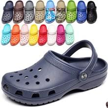 2020 RYAMAG Slip On Casual Garden Clogs Waterproof Shoes Women Classic Nursing C