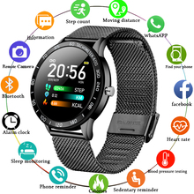 LIGE 2019 New Smart Watch Men OLED Color Screen Heart Rate Blood Pressure Multi-