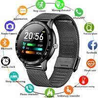 LIGE 2019 nuevo reloj inteligente para hombres pantalla OLED a Color ritmo cardíaco presión arterial modo multifunción reloj inteligente deportivo rastreador de fitness