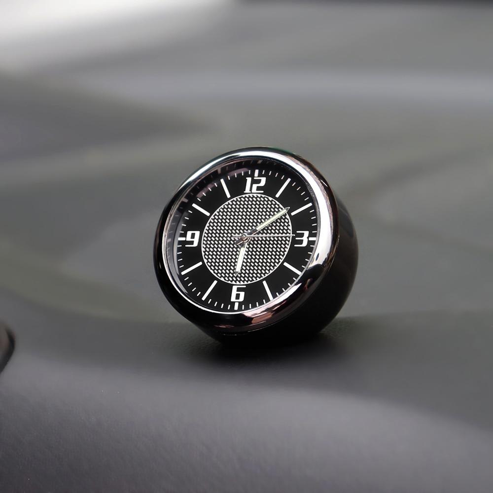Car Clock Auto Accessories interior Dashboard Decoration For Audi A1 A2 A3 8V 8P 8L V8 A4 B5 B6 B7 B8 B9 A5 A6 C5 C6 C7 A7 Q3 Q5