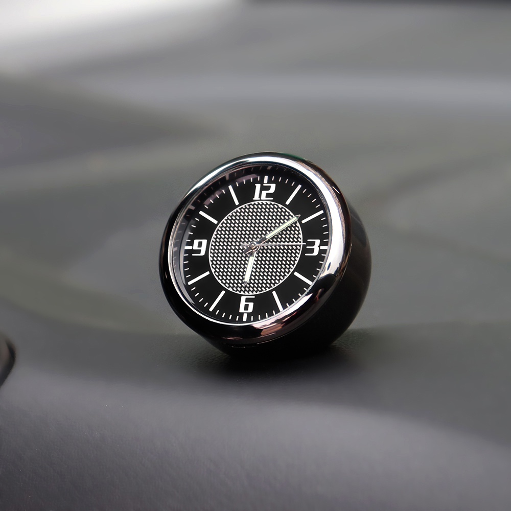 1X Car Clock interior Auto <font><b>Accessories</b></font> Dashboard Decoration For <font><b>Mercedes</b></font> <font><b>Benz</b></font> W202 W203 W204 W205 A B C E M CLA CLC CLS Class image