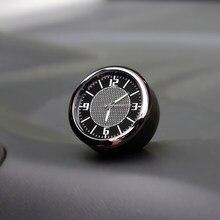 Relógio carro Decoração interior Auto Acessórios Painel Para Audi A4 B5 B6 B7 B8 B9 A1 A2 A3 8V 8P 8L V8 A5 A6 C5 C6 C7 A7 Q3 Q5