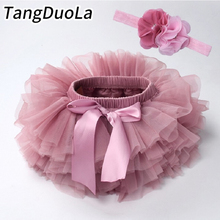 Baby girl tutu skirt 2pcs tulle lace bloomers diaper cover Newborn infant outfits Mauv headband flower set Baby mesh bloomer cheap TANGDUOLA Casual CN(Origin) Female 0-6m 7-12m 13-24m 25-36m 3-6y Cotton Polyester cotton mesh Floral Above Knee Mini Ball Gown