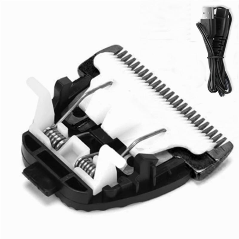 Surker RFC 688B лезвие бритвы hatteker 69001 USB кабель оригинальный керамический титановый сменный клипер лезвие резак|Электробритвы|   | АлиЭкспресс