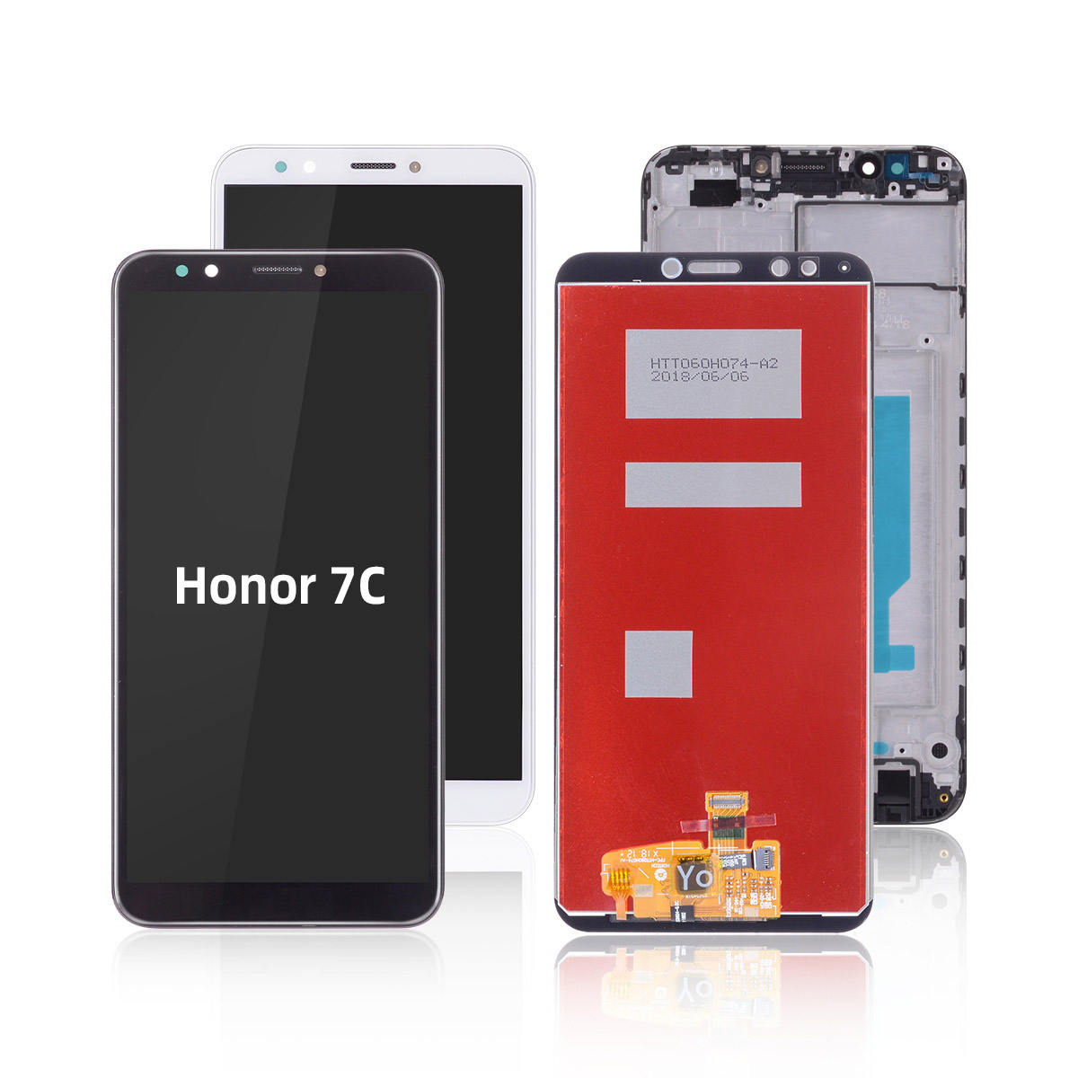 Original Display Huawei Honor 7C Pro LCD Display Touch Screen Digitizer LND-L29 LND-AL30 LND-AL40 Huawei Honor 7C LCD With Frame