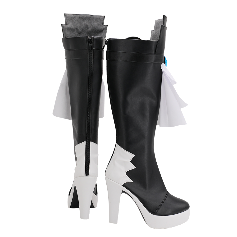 Final Fantasy 14 Gaia Cosplay Boots High Heel Shoes Custom Made for Unisex (4)