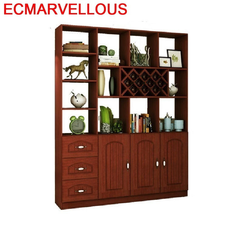 Cristaleira Meube Shelves Display Salon Mobili Per La Casa Mobilya Kitchen Sala Desk Commercial Furniture Bar Shelf Wine Cabinet