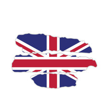 Personality car stickers decal accessories british flag motorcycle
