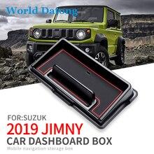 Auto Interior Dashboard Storage Box For Suzuki Jimny 2019 2020 Car Plastic