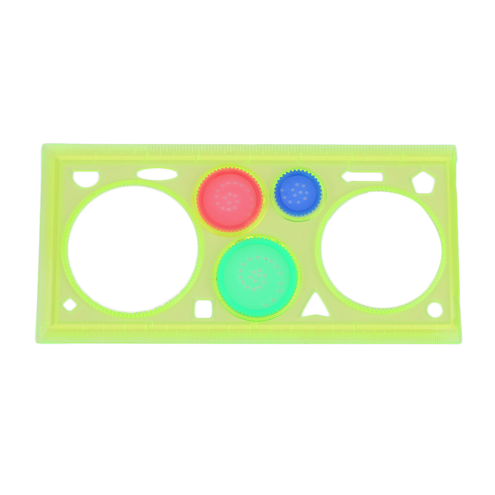 Multifunctional Spirograph Geometric Ruler Children Students Learning Drafting Drawing Stationery Tool Office Supplies