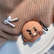 Zestaw słuchawkowy Bluetooth zestaw słuchawkowy przenośne słuchawki nakładka na klucz łańcucha CHIMMY COOKY SHOOKY MANG KOYA TATA RJ wisiorek breloczek