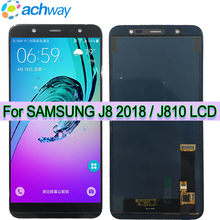 AAA Quality For Samsung Galaxy J8 2018 J800 J800FN J810 J810F J810Y LCD Touch Screen Digitizer Display Replacement Parts(China)