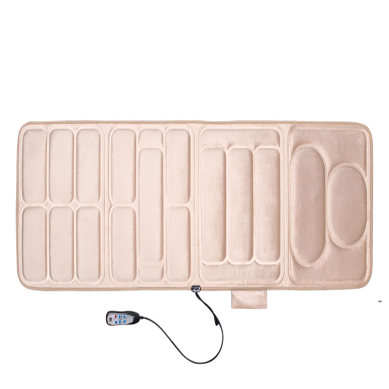 Cervical Massage Cushion Multifunction Mattress Household Pad Waist Back Legs Body Knitted Fabric Soft