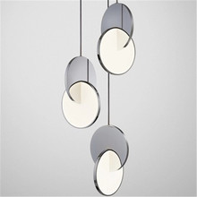 Minimalist Nordic Creative Metal Restaurant Chandelier Post Modern Living Room Dining Room Staircase Bedroom Light nordic modern designers fashion brief iron pendent lights for living room restaurants bedroom bar creative chandelier n1316