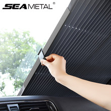 Car Sunshade Protector Foldable Auto Parasol Front&Rear Window Sun Visor Winshield Sun Shade Protection Covers Automotive Goods