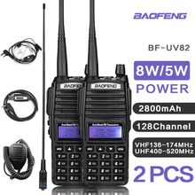 UV82 VHF UHF Transceiver walkie talkie dwukierunkowe Radio walkie talkie Radio Comunicador uv 82 Baofeng uv 82 walkie talkie