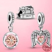 Bracelet Silver Jewelry Charm-Pendant 925-Sterling-Silver Graduation Original Pandora