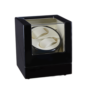 Durable Wood Automatic Watch Winder Box High Class Winding Storage Holder Display Watch Box Quiet Motor Shaker Box for Watch