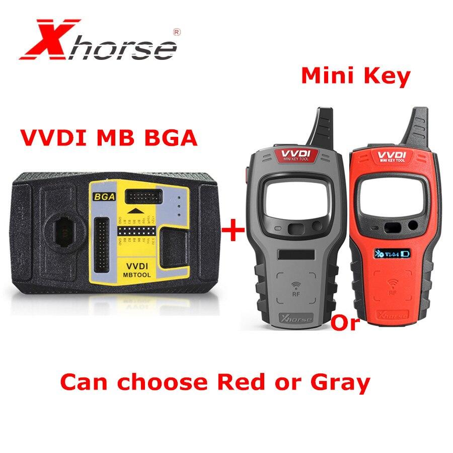 Xhorse V5.0.3 VVDI MB BGA TooL Key Programmer Plus Xhose VVDI MINI Key