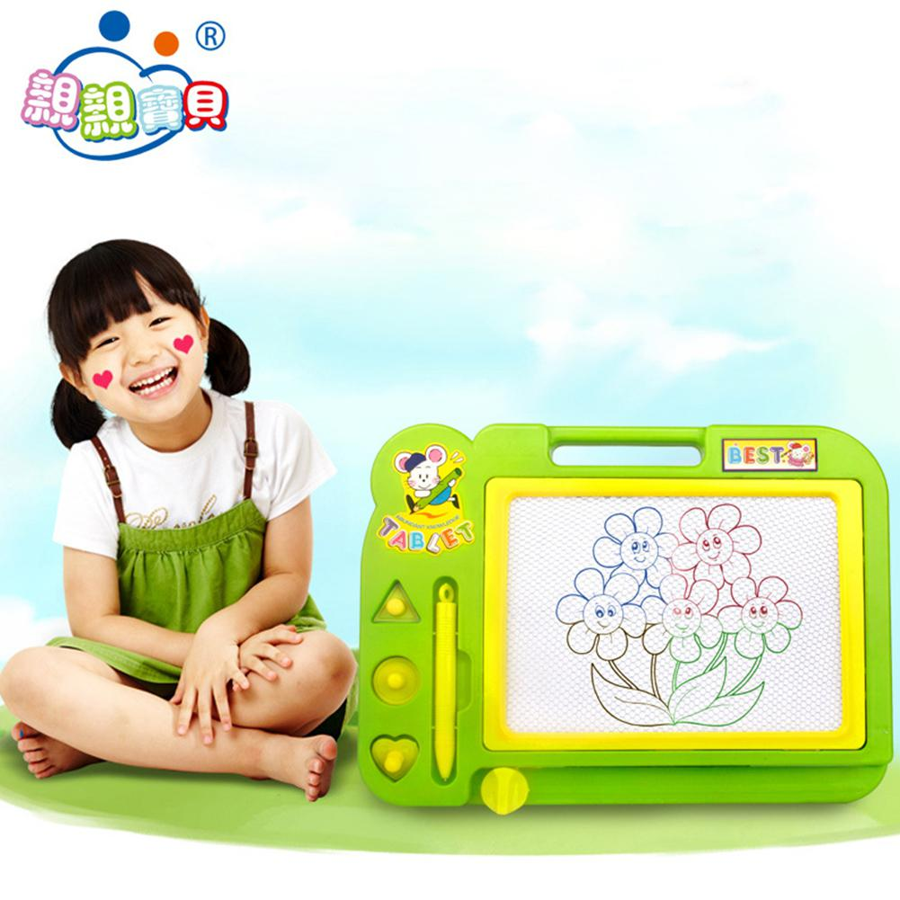 Kuulee Children Educational Toy Sketch Pad Magnetic Drawing Writing Board For Boys And Girls Random Color