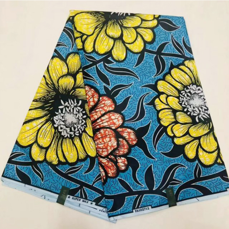 2019 New Ghana Ankara African Wax Fabric Pange Cotton Tissue Real Holland Block Print Super JAVA Nigerian Wax Fabric Kitenge