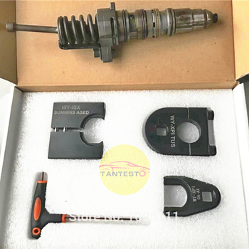 For CUMMINS ISX Diesel Injector Disassemble Tool, Common Rail Injector Nozzle EUI HEUI Dismantle Tool Injector Repair Tool фото