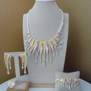 Image 1 - Yuminglai dubai conjuntos de jóias de fantasia design exclusivo para mulher fhk8944